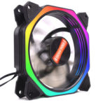 New              Coolmoon 16000000 Colors RGB Computer Case RGB Cooling Fan for PC Case