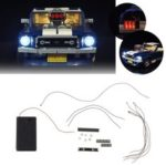 New              DIY LED Light String Kit For LEGO 10265 Series For Ford Mustang Model Bricks Toy