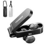 New              Fineblue F MAX Mini TWS bluetooth 5.0 Sports Earphone Wireless Stereo Earbuds with Charging Box