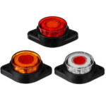 New              24V 8 LED Side Marker Lights Clearance Lamp Truck Trailer Bus Caravan Lorry Van