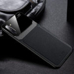 New              For Samsung Galaxy Note 10 Plus / Galaxy Note 10+ 5G Bakeey Luxury Business PU Leather Mirror Glass Shockproof Protective Case
