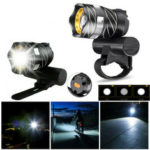 New              XANES® XL44  650LM T6 LED Zoomable Bike Headlight USB Charging Super Bright Bike Front Light Cycling Warning Light