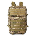 New              45L 900D Waterproof Tactical Camouflage Backpack Outdoor Travel Hunting School Bag Shoulder Bag
