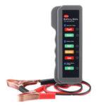 New              12V Car Battery Tester Digital Alternator Detector Mate Car Lighter Plug Diagnostic Tool with 6 LED Indicator