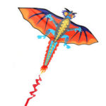 New              3D Huge Dragon Kite Family Outdoor Sports Flying Toy With 30m Kite Line