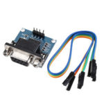 New              3pcs DC5V MAX3232 MAX232 RS232 To TTL Serial Communication Converter Module With Jumper Cable Geekcreit for Arduino – products that work with official Arduino boards