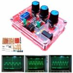 New              XR2206 Signal Function Generator DIY Kits + Case Sine Triangle Square 1Hz-1MHz