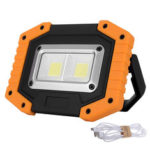 New              XANES 30W LED COB Outdoor IP65 Waterproof Work Light Camping Emergency Lantern Floodlight Flashlight