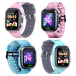 New              Bakeey K6 Anti-lost Smart Watch GPS Tracker SOS Call GSM SIM LBS Smart Wristband for Child Kids