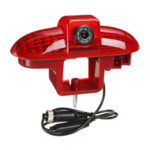 New              Car Reversing Backup Rear View Camera Brake Light For Renault Trafic 2001-2014 USA NTSC Type