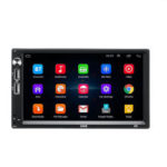 New              7 Inch 2Din for Android 8.1 Car Radio Stereo GPS Nav Quad Core 1+16GB Touch Screen GPS WIFI FM bluetooth