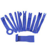 New              11PCS Blue Interior Trim Removal Tool Set For Car Audio System Dashboard Door Panel