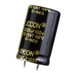 New              2200UF 100V 25x40mm Radial Aluminium Electrolytic Capacitor High Frequency 105°C