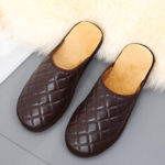New              Men's Comfy Warm Mules Home Indoor Casual Slip On Slippers