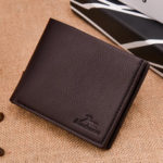 New              Men Casual Faux Leather Wallet Short Leisure Wallet Card Hol