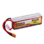 New              ZOP Power 14.8V 5000mAh 80C 4S Lipo Battery XT60 Plug for RC Drone