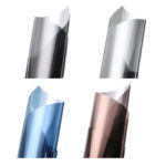 New              50cm*2m Solar Reflective One Way Mirror Privacy Window Film Insulation Stickers