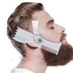 New              New Beard Shaping Tool Trimming Shaper Template Comb