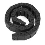 New              18mm x 50mm Openable Plastic Cable Drag Chain 1M Long Wire Carrier Drag Chain