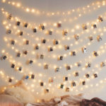 New              3M 5M 10M Hanging Photo Clips Warm White LED Wire Fairy String Light Battery Christmas Party Wedding Decor