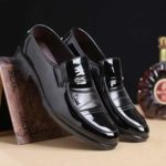 New              Men's Casual Office Formal Work Oxfords Leather Shoes Round Toe Business Dress
