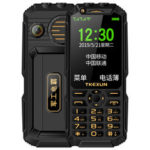 New              TKEXUN Q8A 3G Network With Wifi 3.0 inch 2800mAh Power Bank Speed Dial Double Flashlight 3D Loud Speaker Dual SIM Card Dual Standby Feature Phone