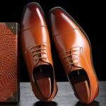 New              Microfiber Leather Dress Shoe Casual Business Oxfords