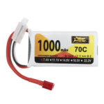 New              ZOP Power 7.4V 1000mAh 70C 2S Lipo Battery T Plug for Wltoys V912 V912 V262 V353 Helicopter