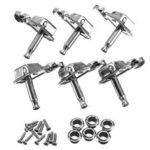 New              6PCS 6R Guitar Tuning Pegs Tuners Machine Heads for Fender Replacement