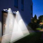 New              100W 200W 220V LED Street Light Waterproof Security Lighting Outdoor Night Light Wall Lamp
