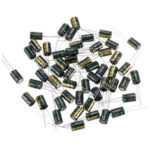 New              50Pcs 10V1000UF High Frequency Low ESR Radial Electrolytic Capacitor