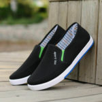 New              Canvas Casual Slip Resistant Soft Walking Driving Loafers