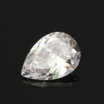 New              13x18mm Beautiful White Sapphire Pear Cut Lustrous Loose Gemstone Stone Gem Decorations