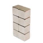 New              20Pcs N50 Rare Earth Magnet 10mm Cube Block Neodymium Super Strong Fridge