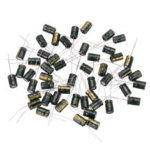 New              50Pcs 16V 470UF 8 x 12MM High Frequency Low ESR Radial Electrolytic Capacitor