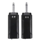 New              Portable Wireless Audio Transmitter Receiver System for Electric Guitar Bass Electric Violin