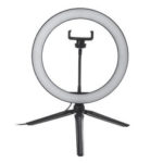New              10 Inch Dimmable LED Selfie Video Ring Light with Tripod Stand Phone Holder for Youtube Tik Tok Live Streaming Makeup
