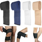 New              Elastic Sports Bandage Knee Pad Support Wrap Knee Band Brace Elbow Calf Arm Support
