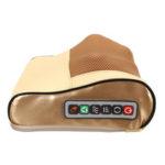 New              Electric Lumbar Neck Back Massage Pillow Cushion Infrared Heating Kneading Body Massager