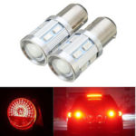New              2Pcs BAY15D 1157 LED 12LED Light Bulb Car Brake Tail Rear Stop Lights Bulb Lamp 9W 12V