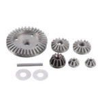 New              9PCS HBX M16103 Upgraded Metal Differential Gear for 16889 1/16 RC Car Spare Parts