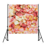 New              Flowers Art Fashion Studio Photo Photography Backdrop Wall Party Background Decor Painting Backdrop