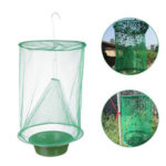 New              2/3/6/10PCS Green Drosophila Fly Trap Top Catcher Fly Wasp Insect Bug Killer Catcher Cage Mosquito Net