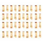 New              20 Pairs Amass 3.5mm Banana Plug AM-1001C Male & Female For RC Models