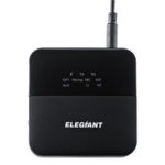 New              bluetooth 5.0 Transmitter Receiver Wireless Audio Adapter 20m Range with 3.5mm Digital Optical Toslink 2 RCA Plug Cable