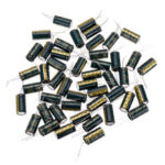 New              50Pcs 50V 1000UF 13 x 20MM High Frequency Low ESR Radial Electrolytic Capacitor
