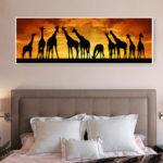 New              Giraffe Family Full Drill 5D Diamond Paintings Embroidery Cross Stitch Kit