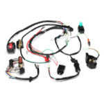 New              50cc 70cc 90cc 110cc 125cc ATV Ignition Coil Electric Complete Wiring Harness Assembly