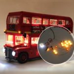 New              DIY LED Light Lighting Kit ONLY For LEGO London Bus 10258 Toy Bricks Building Blocks