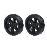 New              1 Pair Lobot 68mm Silicone Robot Car Wheels Compabible With TT Moter For DIY RC Robot Car